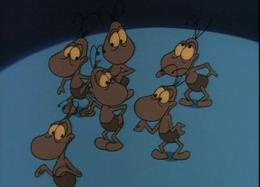 Lilliputs Ameisen