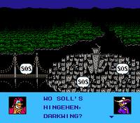 Darkwing Duck (NES) - Levelauswahl