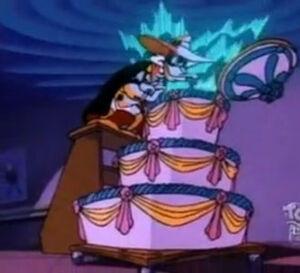 Negaduck cake