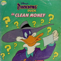 Darkwing Duck in Clean Money