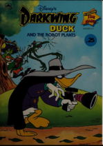 Darkwing Duck and the Robot Plants