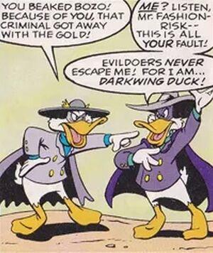 Busman's Holiday - duck dispute