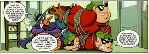 Darkwing vs the Beagle Boys