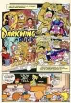 Show and Tell - Darkwing Duck Comic