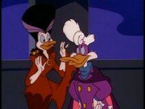Darkwing & Morgana (Just Us Justice Ducks)