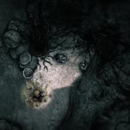 Mushroom Glade -petrified people