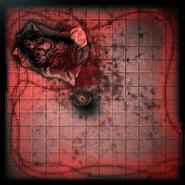 The half eaten Pretty Lady's corpse