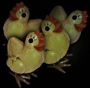 Plastic Chikens