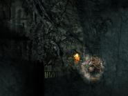 Underground Entrance - campfire