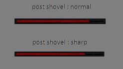Shovel comparison