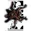 Human spider icon
