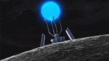 Warp gate satellite