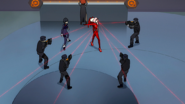 Zero Two surrounded