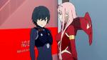 Zero Two and Hiro reunited