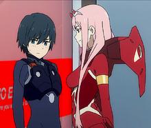 Hiro i Zero Two