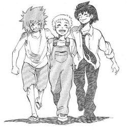 Darren, Sam and Evra