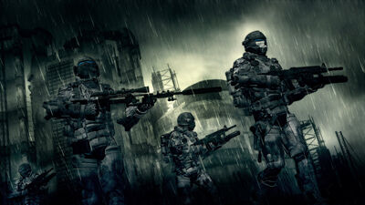 Rain patrol by vilk42-d40yl43