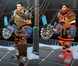 Darwin Project character customization image1