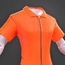 Darwin Project - Orange Jumpsuit shirt male