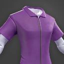 Darwin Project - Purple Jumpsuit shirt male