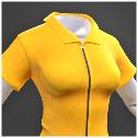 Darwin Project - yellow jumpsuit