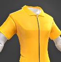 Darwin Project - Yellow Jumpsuit shirt male