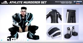 Darwin Project - Athlete Murderer skin