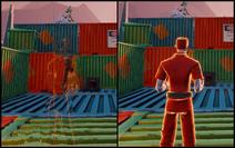 Invisibility On vs Off