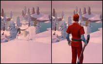 Invisibility Off vs On