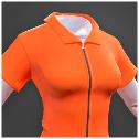 Darwin Project - orange jumpsuit