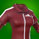 Dark Cherry Female Shirt