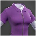 Darwin Project - purple jumpsuit