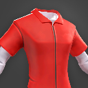 Darwin Project - Red Jumpsuit shirt male