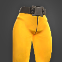 Darwin Project - yellow jumpsuit pants