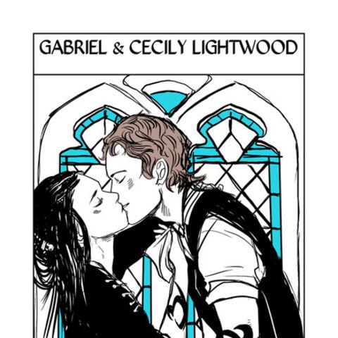 Gabriel i Cecily