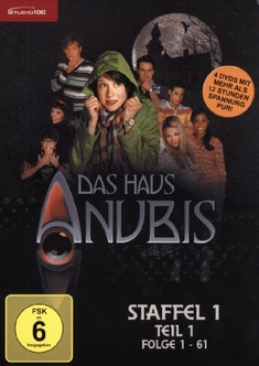 Image 149521 Das Haus Anubis Staffel 1 Teil 1 4 Dvds Jpg Das