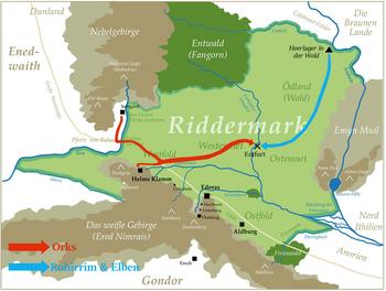 Entfurt - Aufmarsch zur Schlacht
