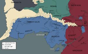 Gondor militärisch