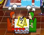 Lovebirds unhappy
