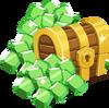 Icn iAP emeralds treasureTrove