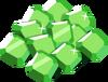 Icn emerald pile