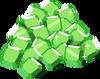 Icn iAP emeralds lrgPile