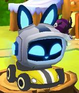 Racecar menu