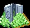 Icn iAP emeralds vault