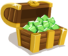 Icn iAP emeralds chest