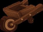 Wheelbarrow transparent