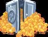 Icn iAP coins vault