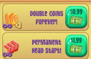 Boosts in shop