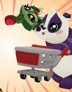 Shopping cart pet