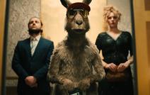 Das Känguru auf Dwigs' Party